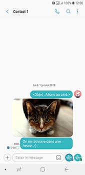 Samsung Galaxy A6 - Contact, Appels, SMS/MMS - Envoyer un MMS - Étape 21