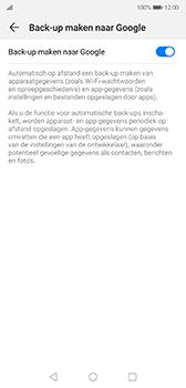 Huawei P20 - Android Pie - toestel resetten - back-up maken met jouw account - stap 9
