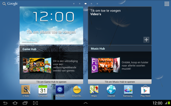 Samsung N8020 Galaxy Note 10-1 LTE - Handleiding - Download gebruiksaanwijzing - Stap 1