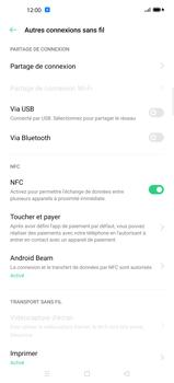 Oppo Find X2 Pro - Internet et connexion - Utiliser le mode modem par USB - Étape 7