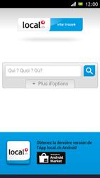 Sony Xperia J - Internet et roaming de données - Navigation sur Internet - Étape 16