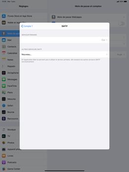 Apple iPad Pro 12.9 (1st gen) - ipados 13 - E-mail - configuration manuelle - Étape 20