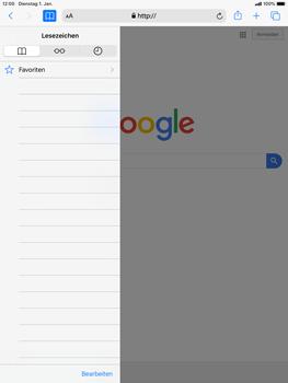 Apple iPad mini (2019) - iPadOS 13 - Internet und Datenroaming - Verwenden des Internets - Schritt 9