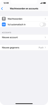Apple iphone-11-pro-model-a2215 - E-mail - Account instellen (IMAP zonder SMTP-verificatie) - Stap 4
