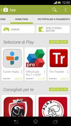 Sony Xperia V - Applicazioni - Installazione delle applicazioni - Fase 5
