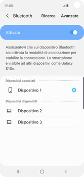 Samsung Galaxy S10e - Bluetooth - Collegamento dei dispositivi - Fase 9