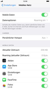 Apple iPhone 6s Plus - Ausland - Auslandskosten vermeiden - 6 / 8