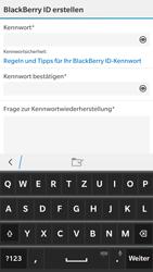 BlackBerry Leap - Apps - Konto anlegen und einrichten - 11 / 14