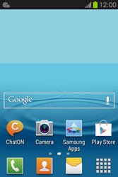 Samsung S6810P Galaxy Fame - MMS - Automatic configuration - Step 3