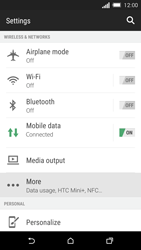 HTC One M8s - Internet - Disable data usage - Step 4