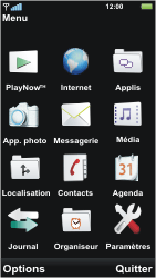 Sony U5i Vivaz - Internet - Configuration manuelle - Étape 15
