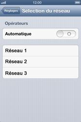 Apple iPhone 4 - iOS 6 - Réseau - utilisation à l'étranger - Étape 8