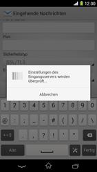 Sony Xperia Z1 - E-Mail - Konto einrichten - Schritt 11