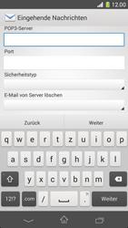 Sony Xperia Z1 Compact - E-Mail - Manuelle Konfiguration - Schritt 9