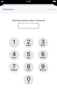 Apple iPhone 7 Plus - iOS 14 - Startanleitung - So aktivieren Sie eine SIM-PIN - Schritt 6