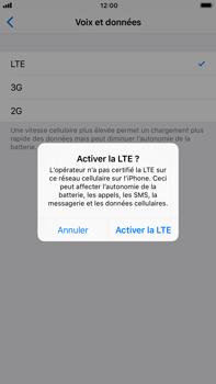 Apple iPhone 7 Plus iOS 11 - Réseau - Activer 4G/LTE - Étape 7