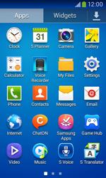 Samsung Galaxy Ace III - WiFi - WiFi configuration - Step 3
