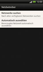 HTC Desire X - Netzwerk - Manuelle Netzwerkwahl - Schritt 6