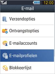 Samsung B3410 Star Qwerty - E-mail - e-mail instellen: POP3 - Stap 7