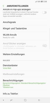Samsung Galaxy S9 Plus - Anrufe - Rufumleitungen setzen und löschen - Schritt 7