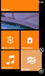 Nokia Lumia 800 / Lumia 900 - Startanleitung - Personalisieren der Startseite - Schritt 6