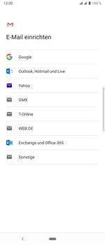 Sony Xperia 10 Plus - E-Mail - Konto einrichten (gmail) - Schritt 8