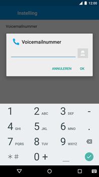 Motorola Nexus 6 - Voicemail - handmatig instellen - Stap 10
