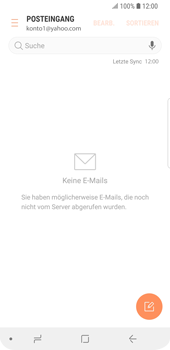 Samsung Galaxy S9 - E-Mail - 032b. Email wizard - Yahoo - Schritt 10