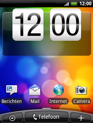 HTC A3333 Wildfire - bluetooth - aanzetten - stap 1