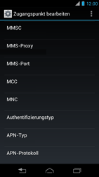 Motorola XT890 RAZR i - MMS - Manuelle Konfiguration - Schritt 12