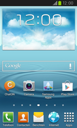 Samsung I9105P Galaxy S II Plus - SMS - handmatig instellen - Stap 1