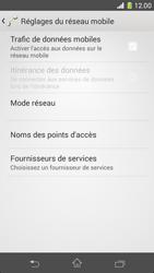 Sony Xperia Z1 Compact - Internet et roaming de données - Comment vérifier que la connexion des données est activée - Étape 6