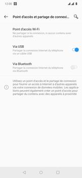 OnePlus 7 Pro - Internet et connexion - Utiliser le mode modem par USB - Étape 8