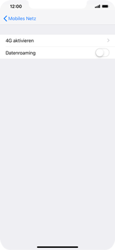 Apple iPhone XS Max - Ausland - Auslandskosten vermeiden - Schritt 8