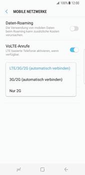 Samsung Galaxy S8 - Netzwerk - Netzwerkeinstellungen ändern - Schritt 7
