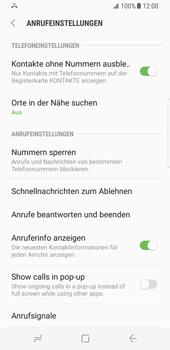 Samsung Galaxy S8 - Anrufe - Anrufe blockieren - Schritt 7