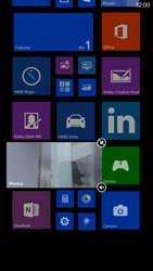 Nokia Lumia 1320 - Getting started - Personalising your Start screen - Step 7