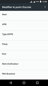 Acer Liquid Zest 4G Plus Double SIM - Internet - Configuration manuelle - Étape 12
