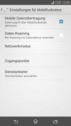 Sony D5103 Xperia T3 - Ausland - Im Ausland surfen – Datenroaming - Schritt 8