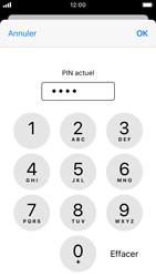 Apple iPhone SE - iOS 13 - Sécurité - modifier SIM PIN - Étape 7