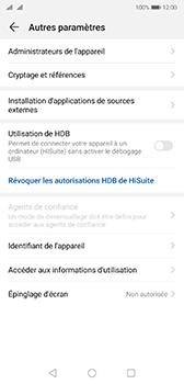 Huawei P20 - Android Pie - Prise en main - Comment activer un code SIM - Étape 5