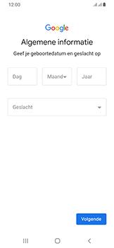 Samsung Galaxy A40 - apps - account instellen - stap 8