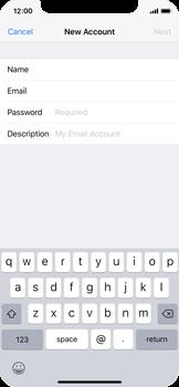 Apple iPhone X - E-mail - manual configuration - Step 8