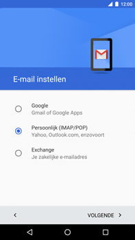 Huawei Google Nexus 6P - E-mail - Account instellen (POP3 zonder SMTP-verificatie) - Stap 8