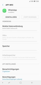Samsung Galaxy Note9 - Apps - Eine App deinstallieren - Schritt 6