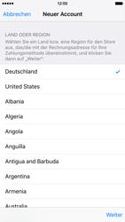 Apple iPhone 6s - Apps - Konto anlegen und einrichten - 1 / 1