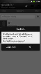 HTC One Mini - Contacten en data - Contacten overzetten via Bluetooth - Stap 10
