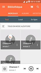 Alcatel U5 - Photos, vidéos, musique - Ecouter de la musique - Étape 7