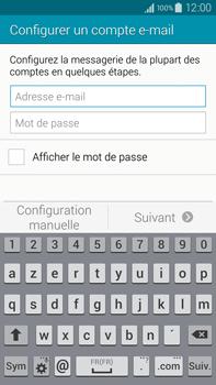 Samsung Galaxy Note 4 - E-mail - configuration manuelle - Étape 5
