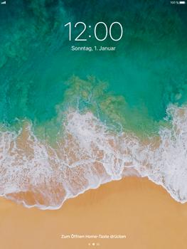 Apple iPad Air 2 - iOS 11 - Sperrbildschirm und Benachrichtigungen - 2 / 9